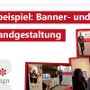Kundenbeispiel: Banner- und Messewandgestaltung